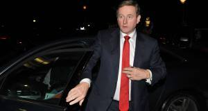 Enda Kenny arriving at the Oriel House Hotel for a Fine Gael regional meeting. (Picture: David Keane)