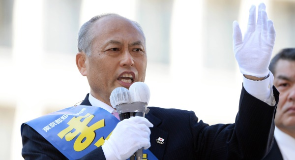 Yoichi Masuzoe: Women unfit for cabinet. Picture: Getty