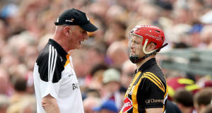 WISE WORDS: Tommy Walsh enjoyed huge success under Kilkenny manager Brian Cody in a variety of roles.