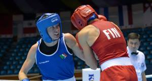 Katie Taylor: Will meet Chinese southpaw Junhua Yin in tomorrow's semi-final.