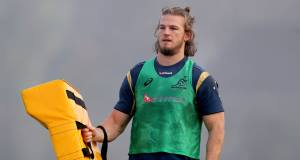 Michael Hooper's impact has been such that he was handed the captaincy of Australia at the tender age of 23 and has already accumulated 40 caps. Picture: Inpho/Ryan Byrne