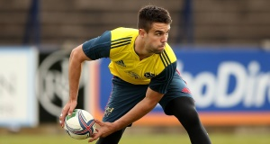 Conor Murray trained well on Friday and is expected to be fit for the Italy clash this Saturday.