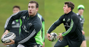 JJ Hanrahan (left) and Ian Keatley
