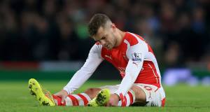 Jack Wilshere: Vowed to bounce back from latest injury setback.