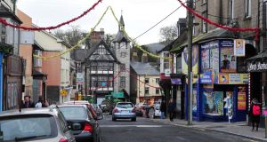 The town of Mallow, Co Cork.