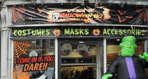 Halloween HQ, above at St Patrick St, Cork.