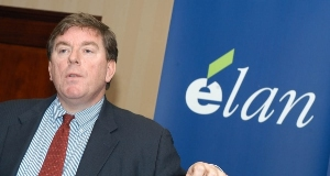 Former Elan chief executive Kelly Martin
