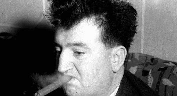 Brendan Behan, died 50 years ago today.