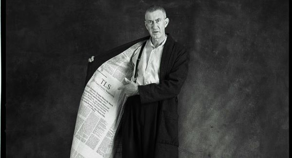 Barry McGovern in the 2006 Gate production of I'll Go On. The show originated at the Gate Theatre under Michael Colgan's stewardship. Picture: Amelia Stein