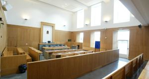File photograph of an Irish Courtroom