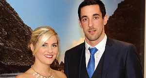 Kerry footballer Anthony Maher and Megan Hennessy at the Kerry gala banquet celebration night at The Inec, Killarney on Friday night. Picture: Eamonn Keogh (MacMonagle, Killarney)