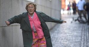 Brendan O'Carroll as Mrs Brown in Mrs Brown's Boys D'Movie, the upcoming film version of the hit  TV show.