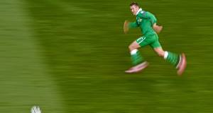 IN THE EYE OF THE STORM: Aiden McGeady can expect a frosty reception when he lines out for Republic of ireland against the nation of his birth.