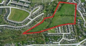 Land at Passage West has full planning, until 2018, for 12 detached houses, and is