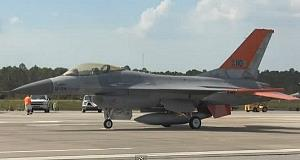 A general picture of an F-16