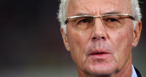 Former FIFA executive committee member Franz Beckenbauer.