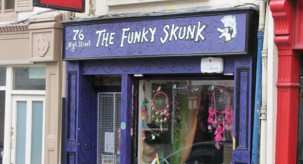 The Funky Skunk head shop in Killarney