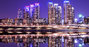 Seoul is a modern metropolis with a population of 10 million.