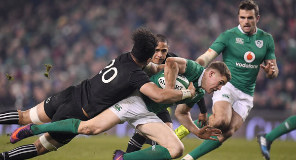 Brian O'Driscoll chooses his words about Dylan Hartley very carefully