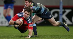 Gerhard van den Heever: Could have star potential for Munster.