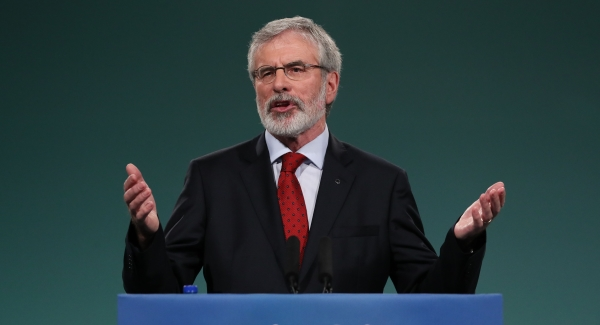 Gerry Adams to retire as Sinn Fein president next year