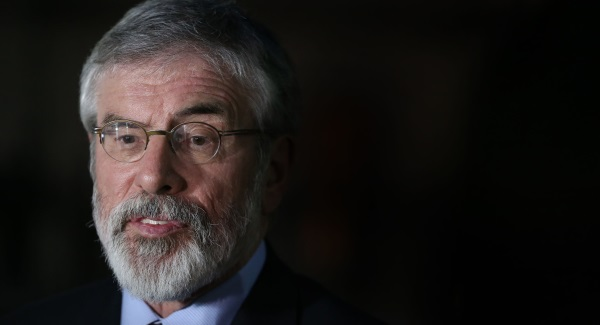 Ireland's Sinn Fein leader Gerry Adams to step down in 2018
