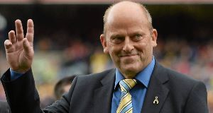 Ger Loughnane (pictured) said former football match official Pat McEnaney should have 'nothing to do' with hurling referees.
