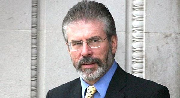 Gerry Adams: Predicted a 'step-change' in politics