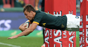 Handre Pollard: The 20-year-old is set to play a pivotal role for South Africa.