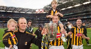 Henry Shefflin with trophy in September