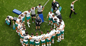CENTRE OF ATTENTION: Ireland coach Joe Schmidt backs himself and that unwavering belief and clarity of action rubs off on all around him.