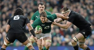 O'Brien in action during the game. Picture: Paul Mohan / SPORTSFILE