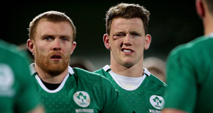 Ireland's Craig Gilroy dejected after the game