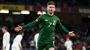 Sean Maguire: Ireland victory important for qualifier against Denmark
