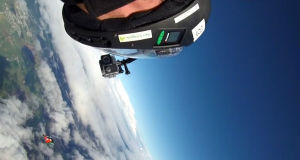 Watch the Irish Wingsuit Team's world record-breaking skydive from 35,000 feet