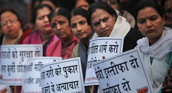 The fatal gang rape of a young woman in a moving bus in New Delhi on Dec 16 set off nationwide protests about India's treatment of women. Five men are being tried on rape and murder charges.