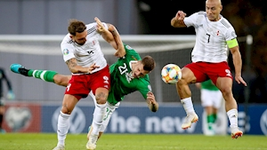 Ireland remain top despite disappointing draw against Georgia