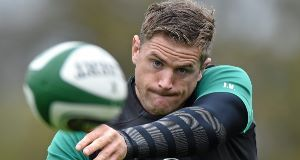 KIND TO A FAULT: Jamie Heaslip  accepted  Pascal Pape's apology.