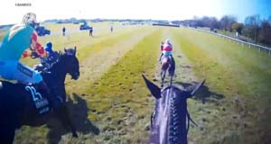 Here's a jockey's-eye view of what it's like to win the Aintree Grand National