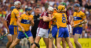Galway claw their way to All-Ireland final after scrappy affair with Clare