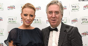 John Delaney and Emma English.