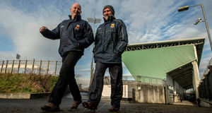 Mayo joint manager Pat Holmes and selector Michael Collins