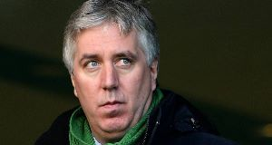 John Delaney: Said he did not believe every lyric to the song and was not a violent person. Picture: Brendan Moran/SPORTSFILE