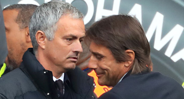 Mourinho accuses Conte of humiliating Manchester United