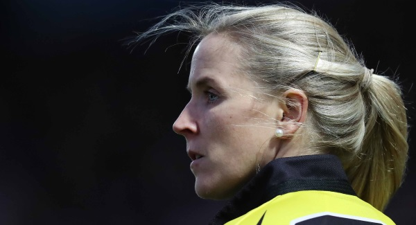 Neville will be first woman referee in European cup