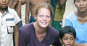 Nurse Kaci Hickox - worked in west Africa with Ebola patients