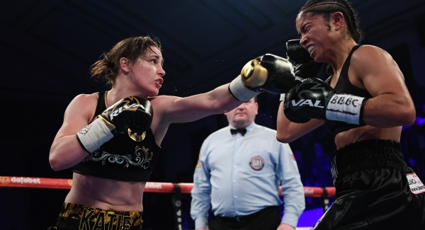 No drama this time at Katie Taylor weigh
