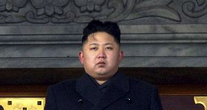 Norht Korean leader Kim Jong Un