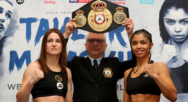 Katie Taylor weighs in for world title defence against Jessica McCaskill