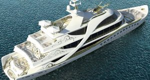 Lidia Bersani, Monaco-based designer to the rich and powerful, is designing an 80m super-yacht with female taste in mind.